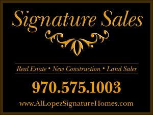 Signature Sales Sign
