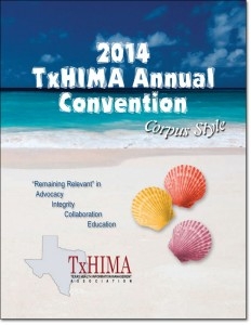 2014 TXHIMA program book